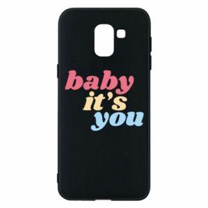 Etui na Samsung J6 Baby it's you