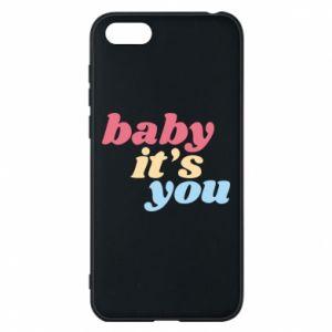 Etui na Huawei Y5 2018 Baby it's you