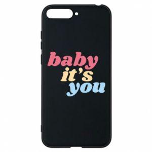 Etui na Huawei Y6 2018 Baby it's you