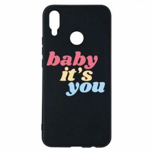 Etui na Huawei P Smart Plus Baby it's you