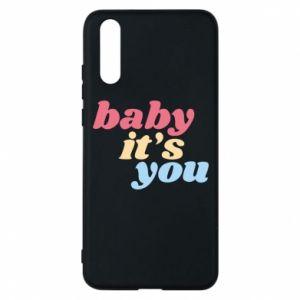 Etui na Huawei P20 Baby it's you
