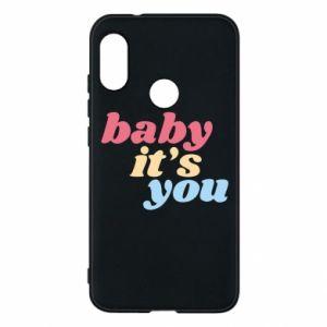 Etui na Mi A2 Lite Baby it's you