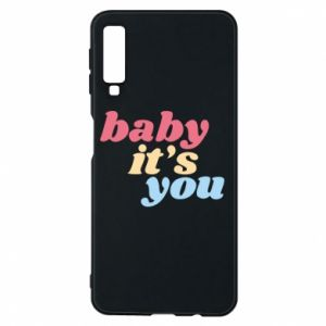 Etui na Samsung A7 2018 Baby it's you