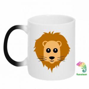 Kubek-kameleon Baby lion