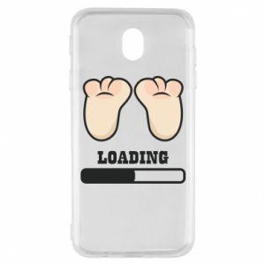 Etui na Samsung J7 2017 Baby loading