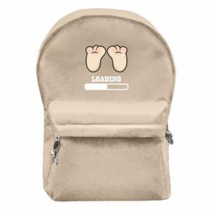 Plecak z przednią kieszenią Baby loading