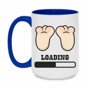 Two-toned mug 450ml Baby loading