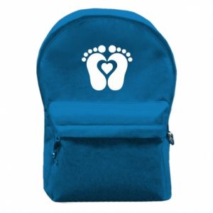Backpack with front pocket Baby love