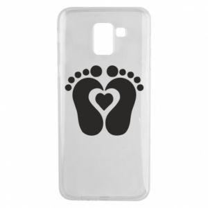 Samsung J6 Case Baby love