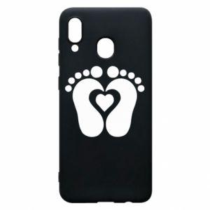 Samsung A20 Case Baby love