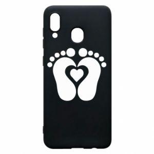 Samsung A30 Case Baby love
