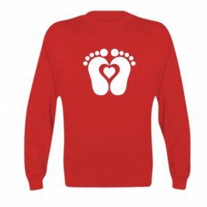 Kid's sweatshirt Baby love