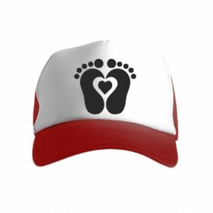Kid's Trucker Hat Baby love