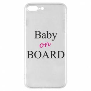 Etui do iPhone 7 Plus Baby on board