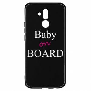 Etui na Huawei Mate 20 Lite Baby on board