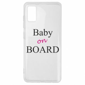 Etui na Samsung A41 Baby on board