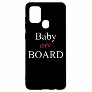 Etui na Samsung A21s Baby on board