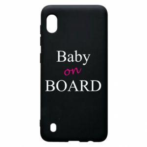 Etui na Samsung A10 Baby on board