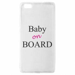 Etui na Huawei P 8 Lite Baby on board