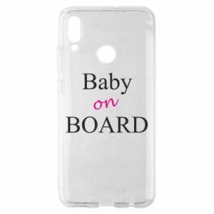 Etui na Huawei P Smart 2019 Baby on board