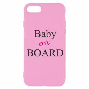 Etui na iPhone SE 2020 Baby on board
