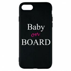 Etui na iPhone 8 Baby on board