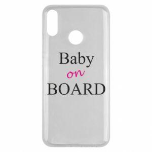 Etui na Huawei Y9 2019 Baby on board