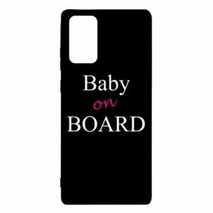 Etui na Samsung Note 20 Baby on board