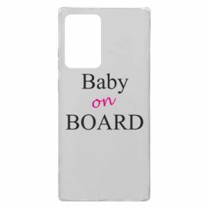 Etui na Samsung Note 20 Ultra Baby on board