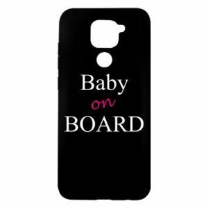 Etui na Xiaomi Redmi Note 9/Redmi 10X Baby on board