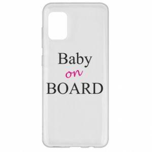 Etui na Samsung A31 Baby on board