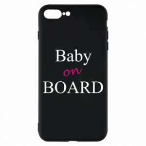 Etui na iPhone 8 Plus Baby on board