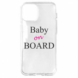 Etui na iPhone 12 Mini Baby on board