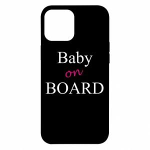 Etui na iPhone 12 Pro Max Baby on board