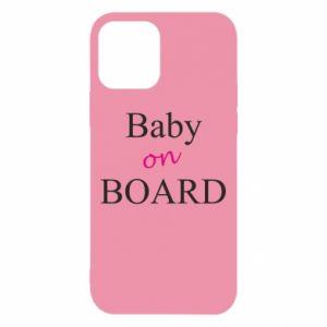 Etui na iPhone 12/12 Pro Baby on board
