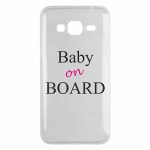 Etui na Samsung J3 2016 Baby on board