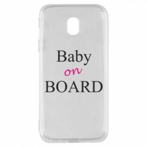 Etui na Samsung J3 2017 Baby on board