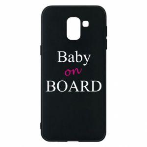 Etui na Samsung J6 Baby on board