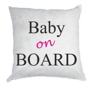 Poduszka Baby on board