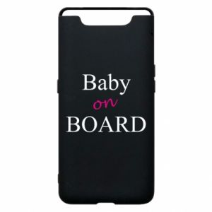 Etui na Samsung A80 Baby on board