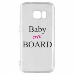 Etui na Samsung S7 Baby on board