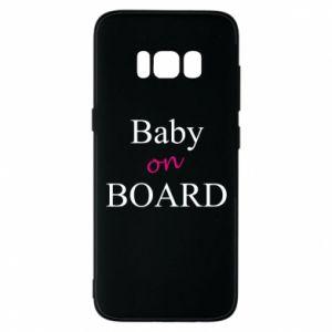 Etui na Samsung S8 Baby on board