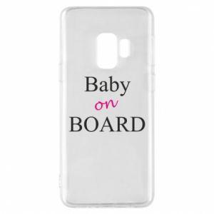 Etui na Samsung S9 Baby on board
