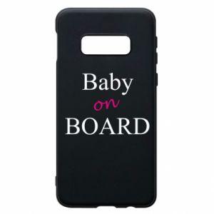 Etui na Samsung S10e Baby on board