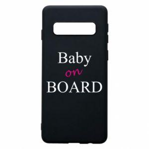 Etui na Samsung S10 Baby on board