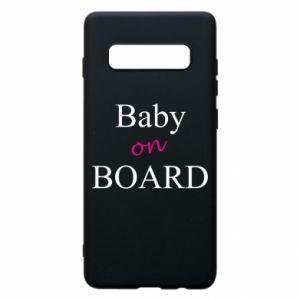 Etui na Samsung S10+ Baby on board