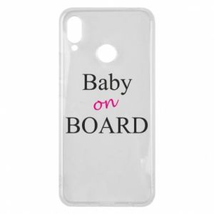 Etui na Huawei P Smart Plus Baby on board