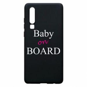 Etui na Huawei P30 Baby on board