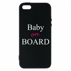 Etui na iPhone 5/5S/SE Baby on board