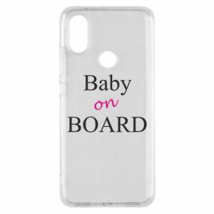 Etui na Xiaomi Mi A2 Baby on board